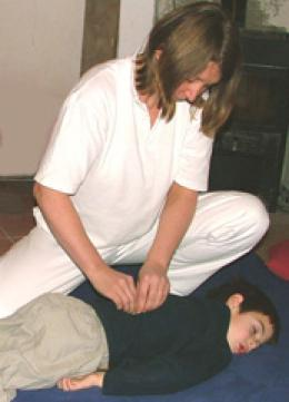 Alternative therapy for children with bad backs